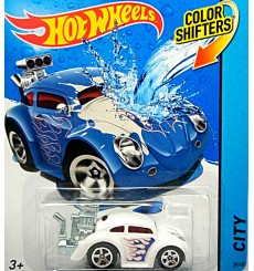Hot Wheels Color Shifters - Volkswagen Bug Hot Rod