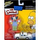 Johnny Lightning Simpsons Chief Wiggums Police Car