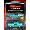 Greenlight Mecum Auction Block 1966 Ford Mustang GT 2+2 Fastback