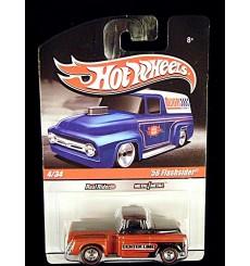 Hot Wheels Slick Rides Delivery Series Centerline Wheels 1956 Chevrolet Flashsider Pickup Truck