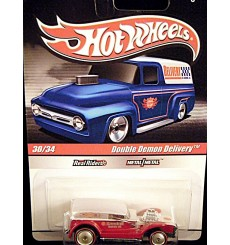 Hot Wheels Slick Rides Delivery Series Kendall Motor Oil Double Demon Hot Rod Delivery Van
