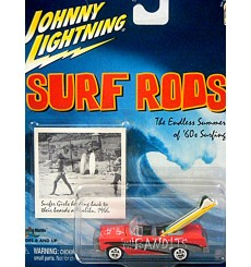 Johnny Lightning Surf Rods 1956 Chevrolet Bel Air Convertible