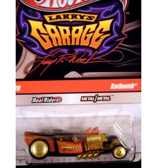 Hot Wheels Larry's Garage Ratbomb Ford Rat Rod Pickup Truck