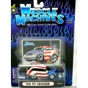 Muscle Machines Chrysler PT Cruiser Stars and Stripes