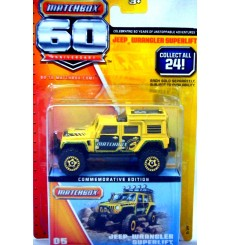 Matchbox 60th Anniversary - Jeep Wrangler Superlift