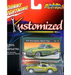 Johhny Lightning Street Freaks - Kustomized 1957 Chevrolet Corvette