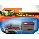 Maisto - Ford F-150 Pickup Truck and Horse Trasnport Trailer set