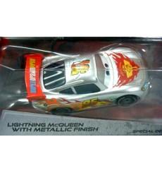 Disney Cars - Lightning McQueen - Silver Racer Series