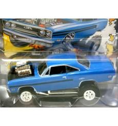 Johnny Lightning Street Freaks 1970 Plymouth GTX