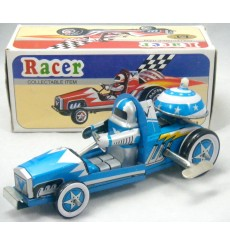 Vintage Tin Litho Race Car
