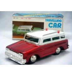 Vintage Tin - MF731 - Travelling Car