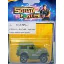 Majorette Squad Force Military Jeep