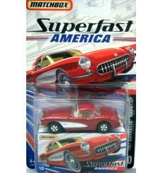 Matchbox Superfast America 1957 Chevrolet Corvette
