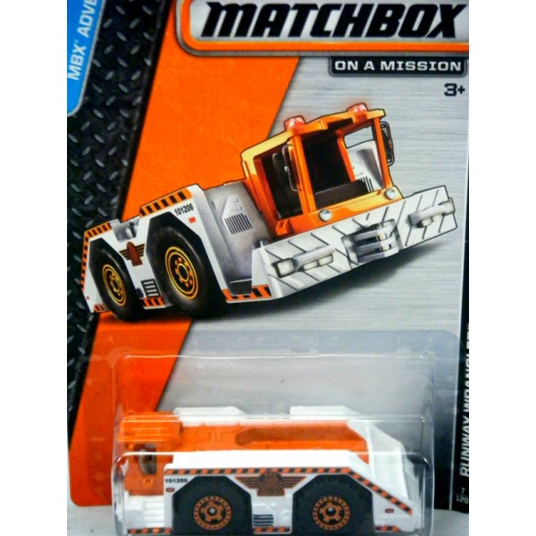 Matchbox Runway Wrangler Airport Truck Global Diecast