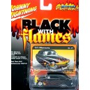 Johnny Lighnting Black with Flames 1951 Custom Merc Lead Sled