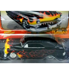 Johnny Lighnting Black with Flames 1951 Custom Merc Lead Sled