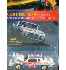 Johnny Lightning Stock Car Legends Geoff Bodine 1982 Pontiac Grand Prix
