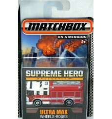 Matchbox Supreme Hero Collection - Hazard Squad Emergency Fire Truck