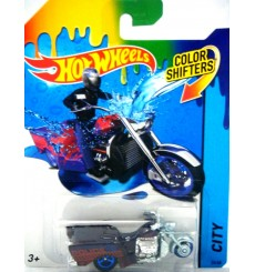 Hot Wheels - Longmont Police Boss Hoss Motorcycle - Trike