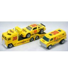 Matchbox Super Stars Michael Waltrip NASCAR Pennzoil Team Convoy Set