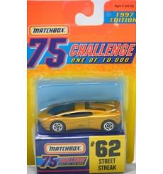Matchbox Gold Challenge Street Streak Supercar