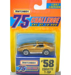 Matchbox Gold Challenge Chevrolet C3 Corvette Coupe