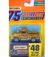 Matchbox Gold Challenge 1956 Ford Pickup Truck