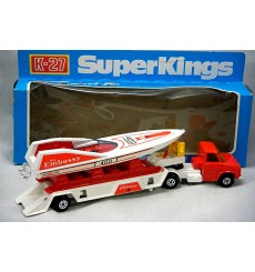 Matchbox SuperKings Boat Transporter and OffShore Racing Boat