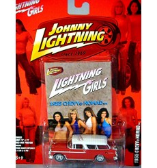 Johnny Lightning - Lightning Girls - Rare Promo - 1955 Chevrolet Nomad