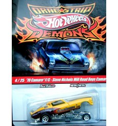 Hot Wheels Dragstrips Demons - 1970 NHRA Chevy Camaro Funny Car Steve Nichols Mill Road Boys