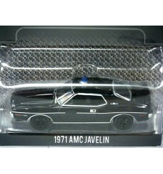 Greenlight Black Bandit - 1971 AMC Javelin AMX Police Car