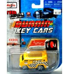 Maisto - Burnin' Key Cars - Custom Van Taxi Cab