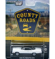 Greenlight - County Roads - 1969 Plymouth GTX