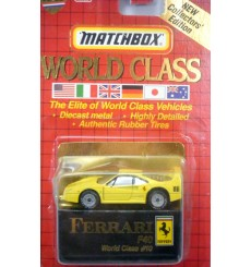 Matchbox World Class Series - Ferrari F-40 Supercar