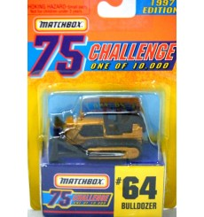 Matchbox Gold Challenge CAT Bulldozer