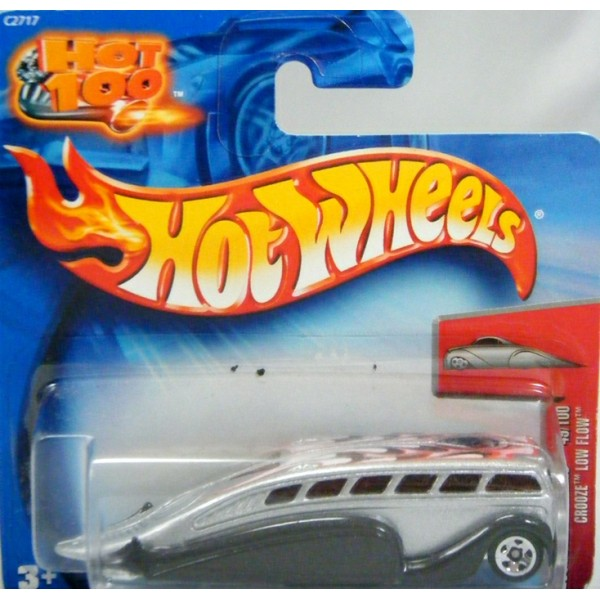 Hot Wheels 2004 First Editions - Crooze Low Flow - Hot Rod ...