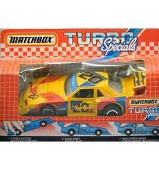 Matchbox - Turbo Specials - Zakspeed Ford Mustang Road Racer