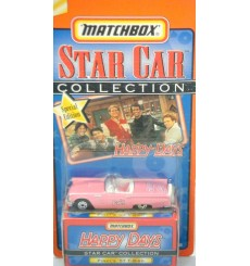 Matchbox Star Cars - Avon Exclusive - Happy Days Pinky 1957 Ford Thunderbird