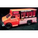 Matchbox Chevrolet Forest Fire Control Wildfire Crew Transport