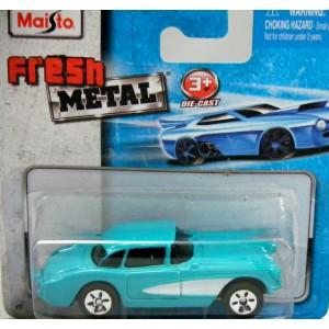 Maisto Fresh Metal - 1957 Chevrolet Corvette - Global Diecast Direct