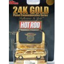 Racing Champions Hot Rod Magazine 24K Gold Plated - 1951 Studebaker