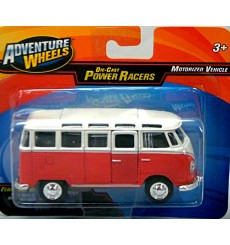 Maisto Power Racer 1960's Volkswagen 21 Window Samba Bus