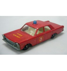 Matchbox Regular Wheels (59C-1) - Ford Galaxie Police Car