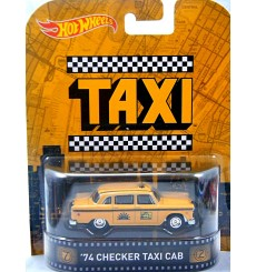 Hot Wheels - Retro Entertainment - Checker Taxi Cab