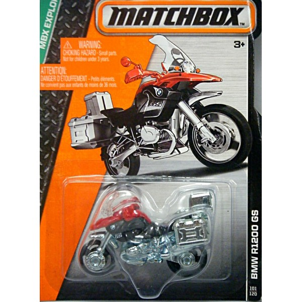Matchbox Bmw R1200 Gs Motorcycle Global Diecast Direct
