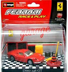 Bburago Ferrari Dino 246 Diorama