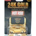 Racing Champions Hot Rod Magazine Series – 24K Gold 1937 Ford Coupe