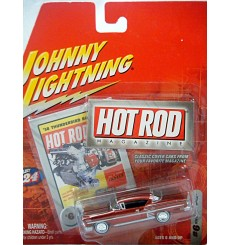 Johnny Lightning Hot Rod Magazine 1958 Chevrolet Impala