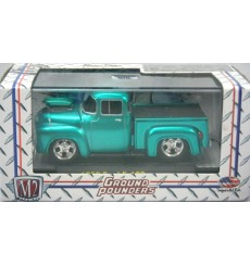 M2 Machines Ground Pounders Premium Edtion 1956 Ford F-100 Pickup Truck