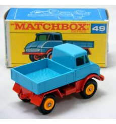 Matchbox Regular Wheels - Mercedes-Benz Unimog